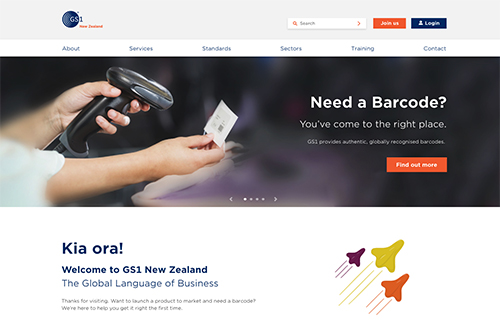GS1 New Zealand website launch